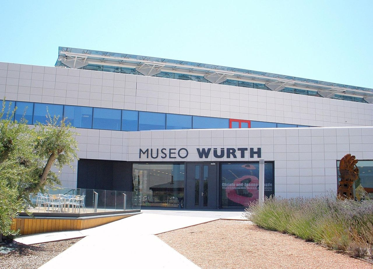 Museo Würth, La Rioja, Spain | ©Zarateman / Wikimedia Commons