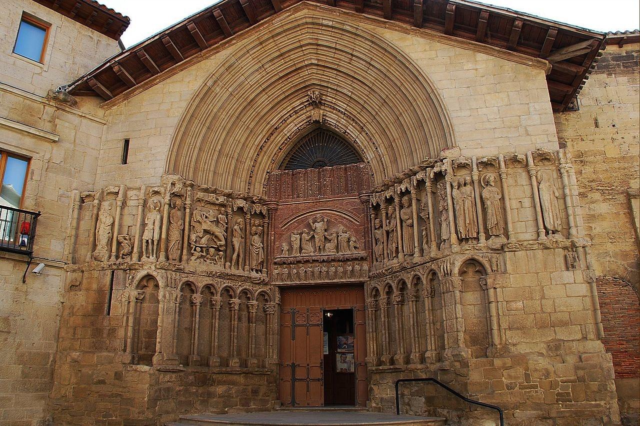 Iglesia de San Bartolomé, Logroño, Spain | ©Juanje 2712 / Wikimedia Commons
