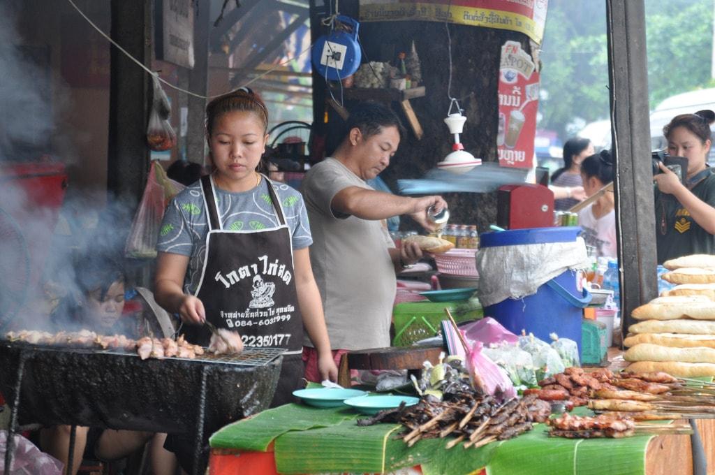 Barbecue, Luang Prabang | © Shankar S/Flickr