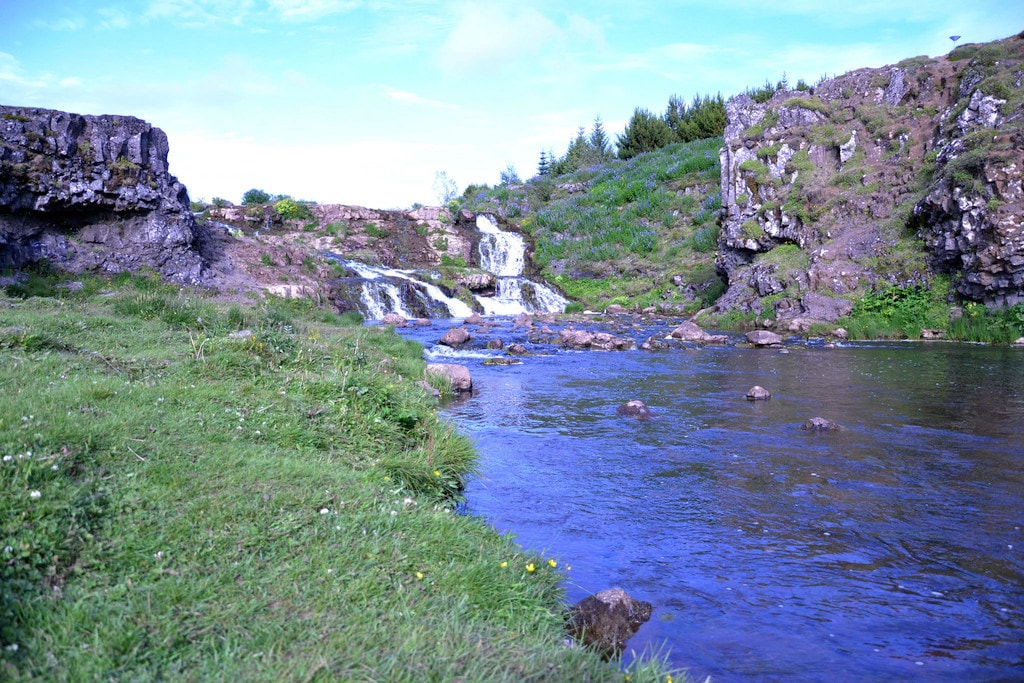 Elliðaárdalur Wasserfall 2 | © Janko Hoener / CC-BY-SA-4.0 / Flickr