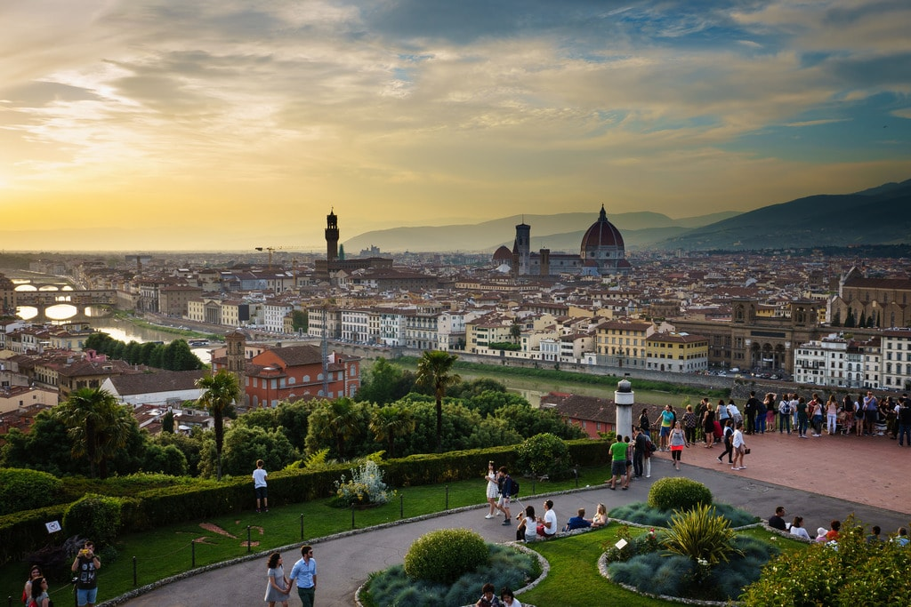 Italian Florence: Where To Go For The Best Views Of Florence