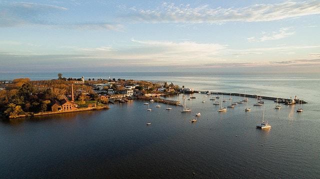 Colonia bay, Uruguay