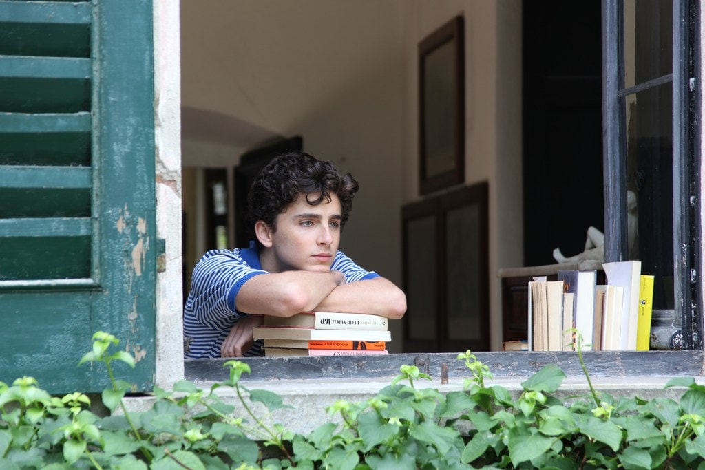 Timothée Chalamet as Elio<br />Courtesy of Sony Pictures Classics <br />