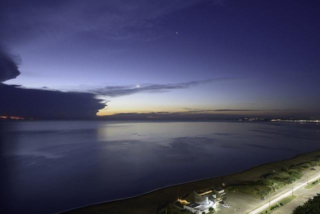 Beach at Pinares, Punta del Este