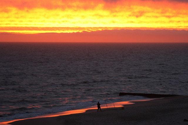 Sunset in La Floresta, Uruguay