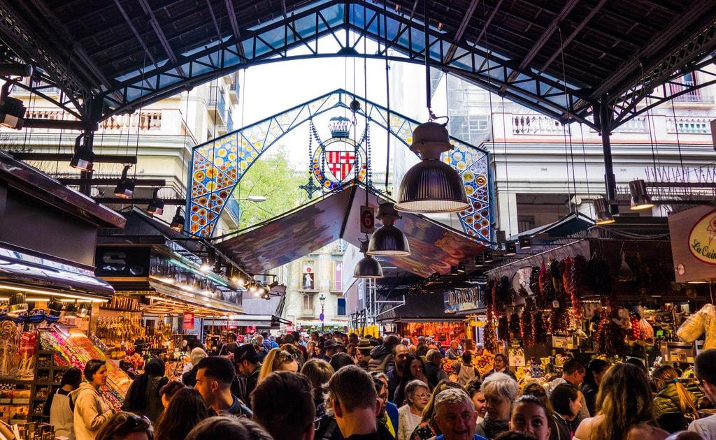 The Boqueria market © G0DeX