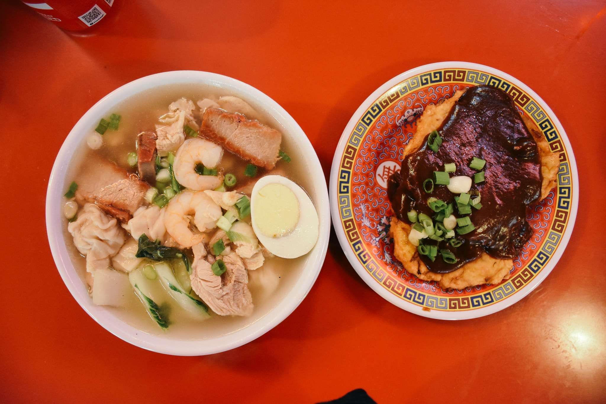 Wonton Soup + Egg Foo Young | © Clarissa Wei/Flickr