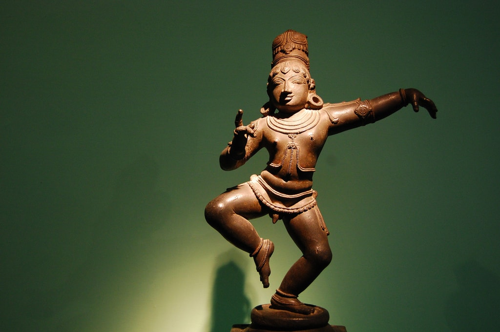 Bronze sculpture at National Museum