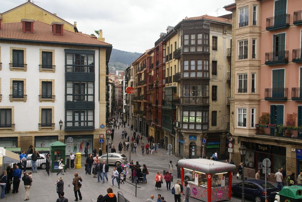 Casco Viejo, Bilbao, Spain | ©David Baron / Flickr