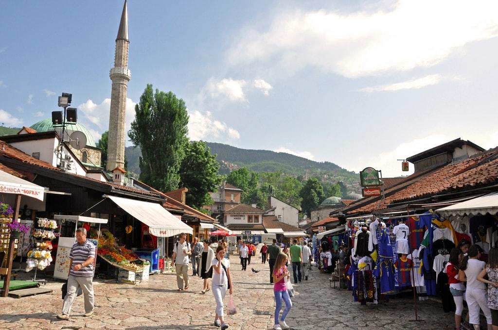 Sarajevo's Old Bazaar (Bascarsija) | © Jennifer Boyer/Flickr