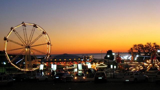 Parque Rodo, Montevideo at dawn