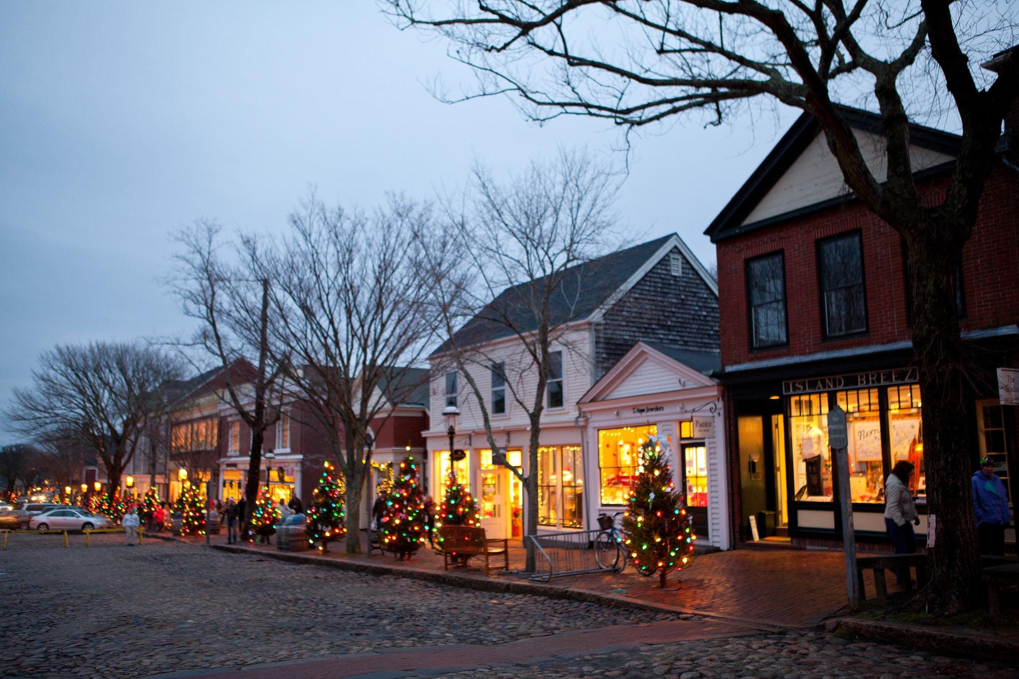Christmas Trees Boston