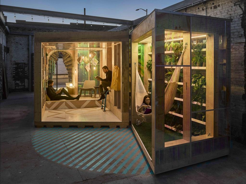 MINI LIVING Urban Cabin   © Frank Oudeman/OTTO/Courtesy MINI LIVING