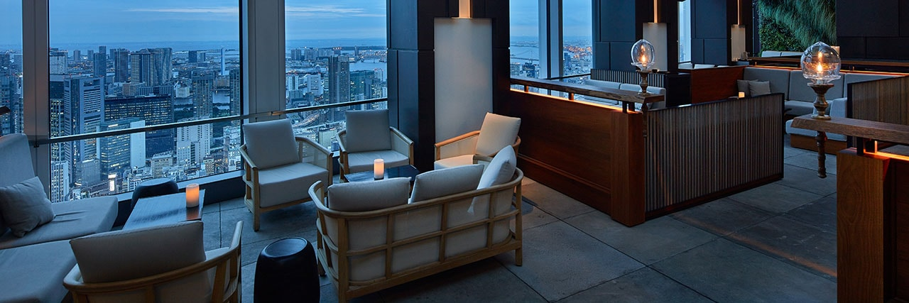 One Of The Best Views In Minato Ward | © Rooftop Bar U2013 Andaz Tokyo