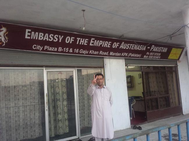 Austenasia Pakistan Embassy
