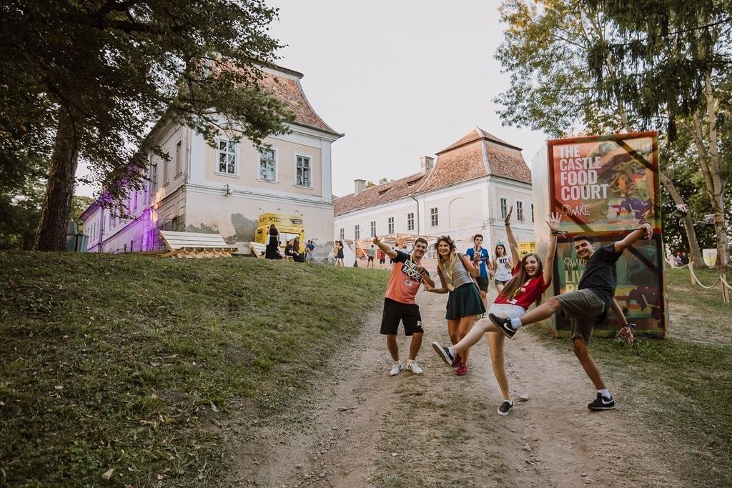 Teleki Castle during the Awake Festival | © Bogdan Bucșeneanu