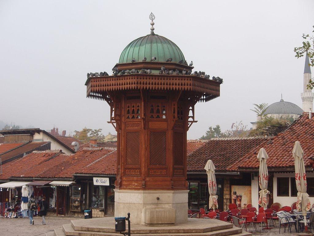 Baščaršija - Sebilj | © Mister No/Wikimedia Commons