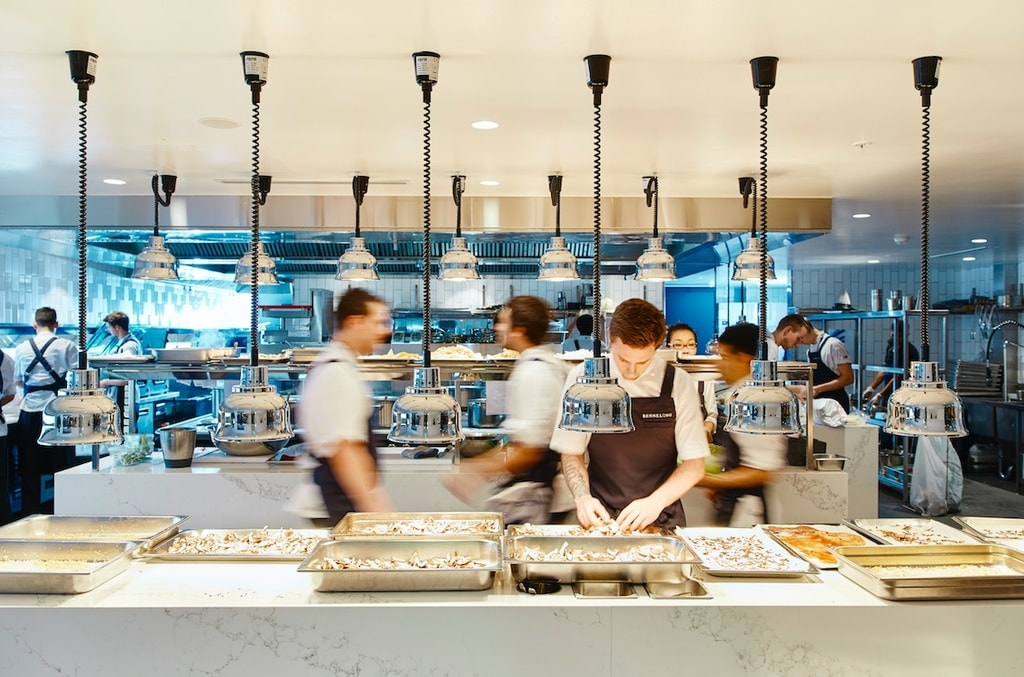 Bennelong kitchen | © Brett Stevens:Courtesy of Bennelong