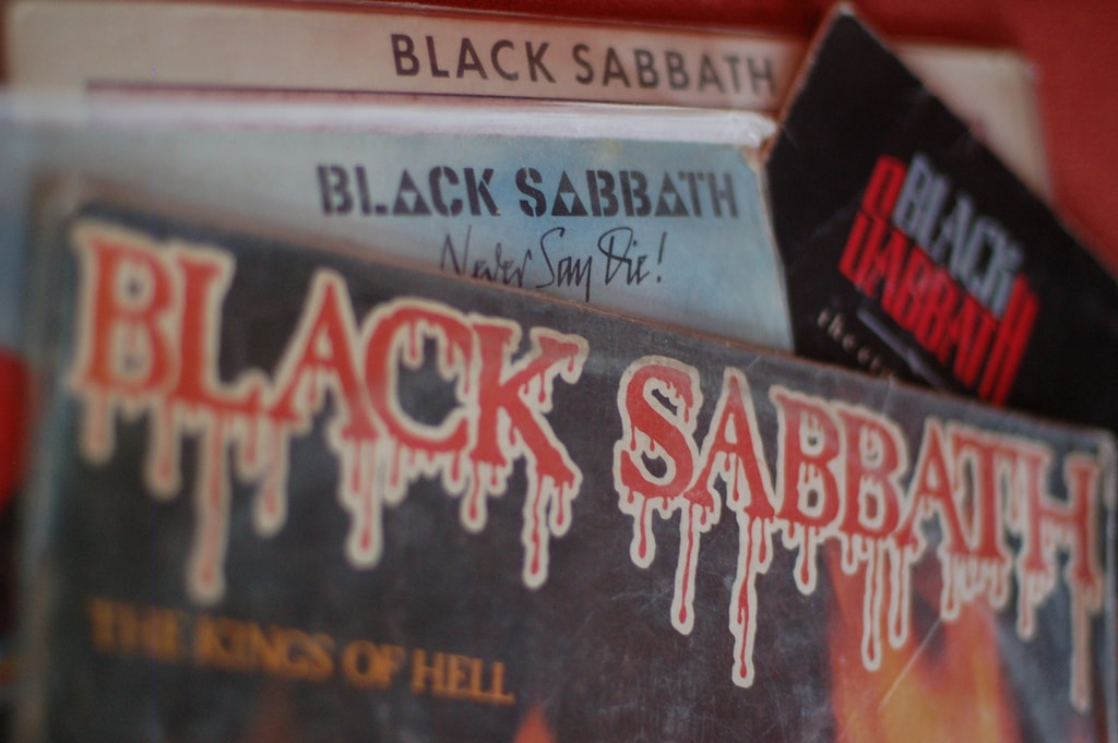 Black Sabbath LPs