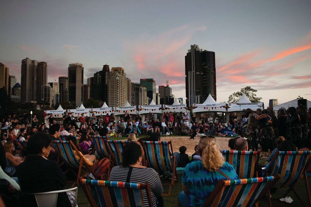 Blak Markets at Barangaroo | Courtesy of the Blak Markets