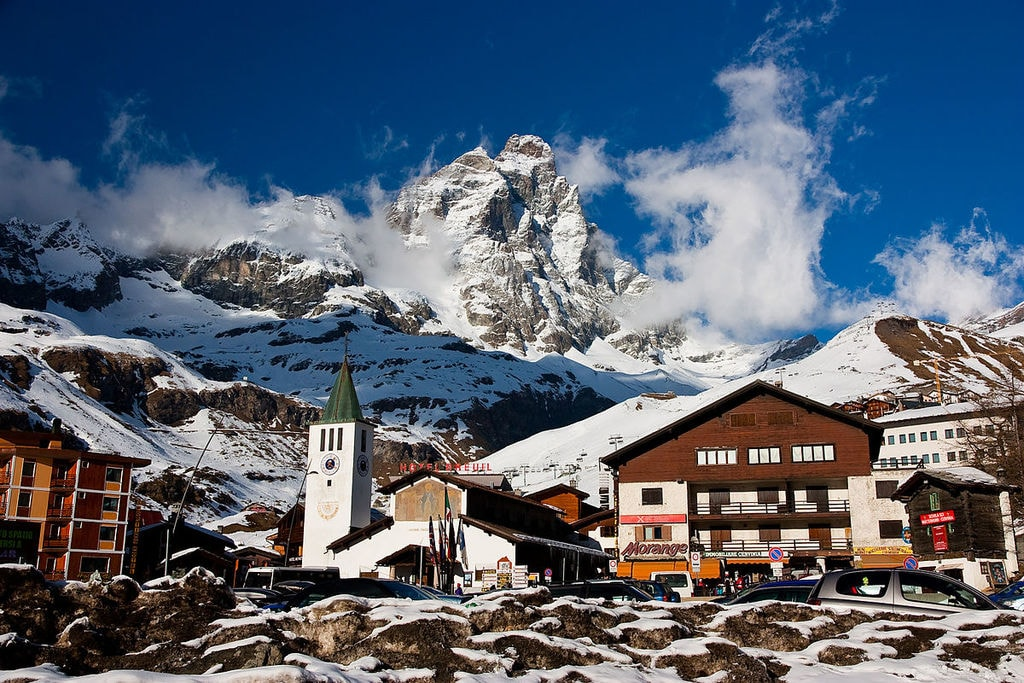 Cervinia ski resort, Italy | ©Дмитрий Ретунских / Wikimedia Commons