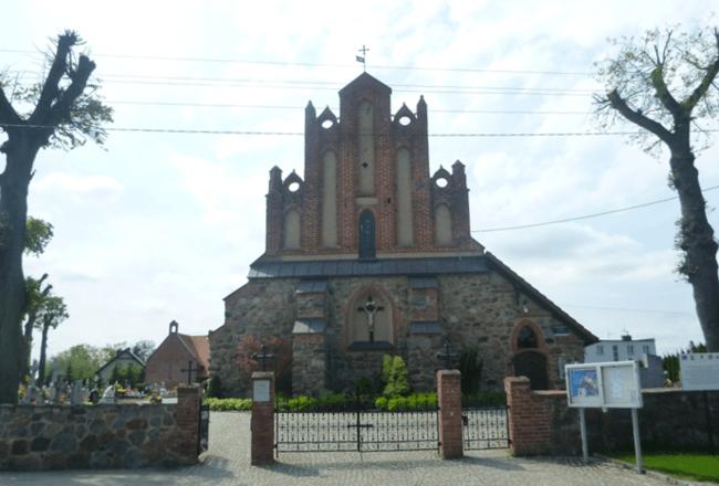 Church in Kokoszkowy