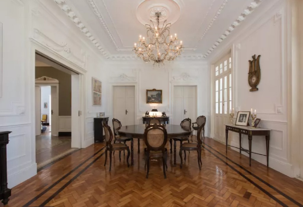 Colonial mansion in Gloria | (c) Rio World Luxury/Airbnb