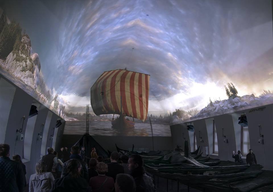 Display at the Viking Ship Museum | Courtesy of Vikingskipshuset, UiO