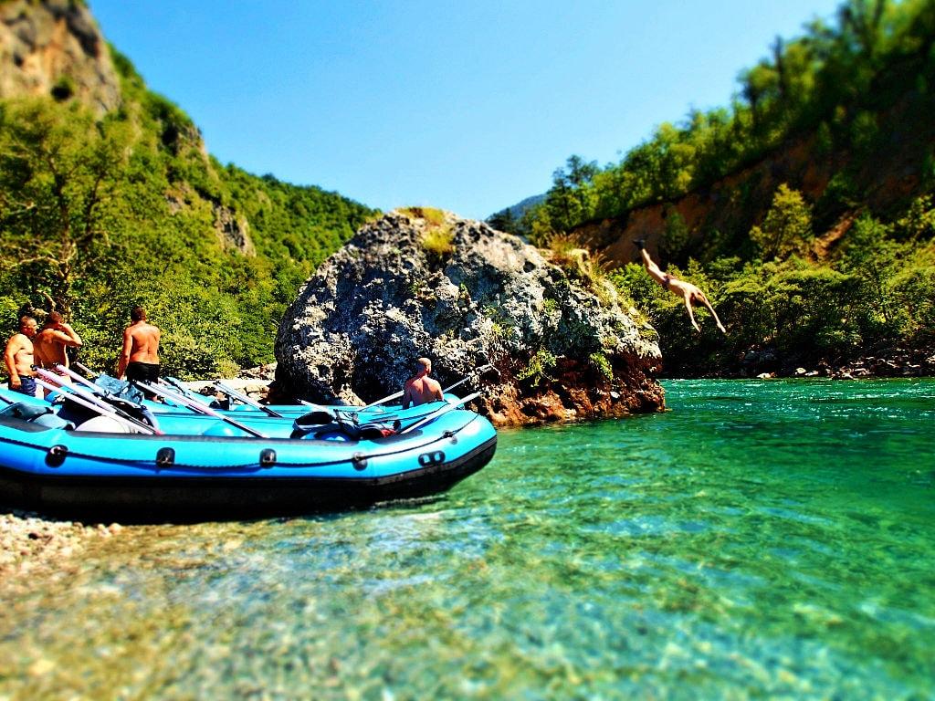 Rafting Tara Canyon | © Sarah Tzinieris/WikiCommons