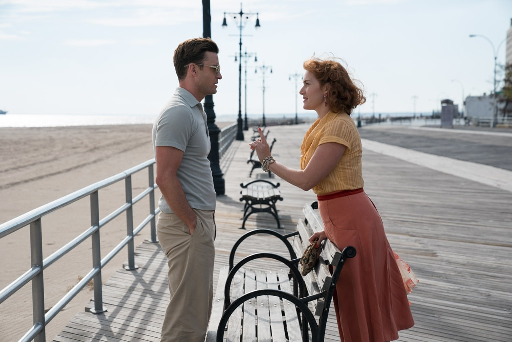 Justin Timberlake and Kate Winslet in 'Wonder Wheel' | © Jessica Miglio/Amazon Studios