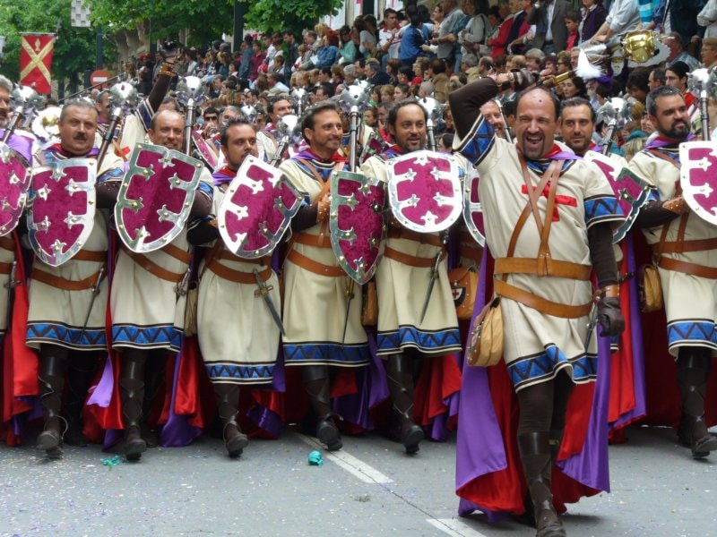 Moors and Christians Festival, Spain | ©Popezz / Wikimedia Commons