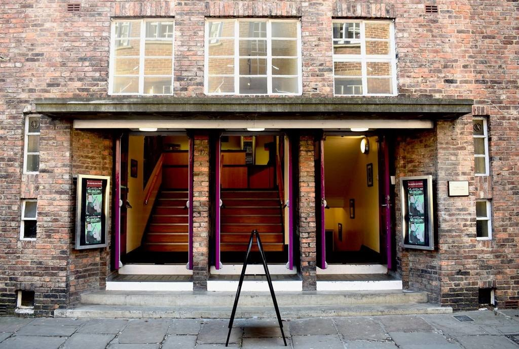 Entrance to Assembly Rooms, Durham