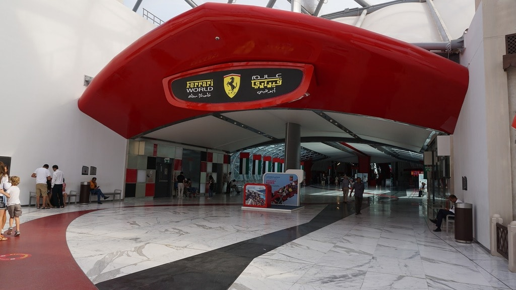 Ferrari World | © fli138/Pixabay