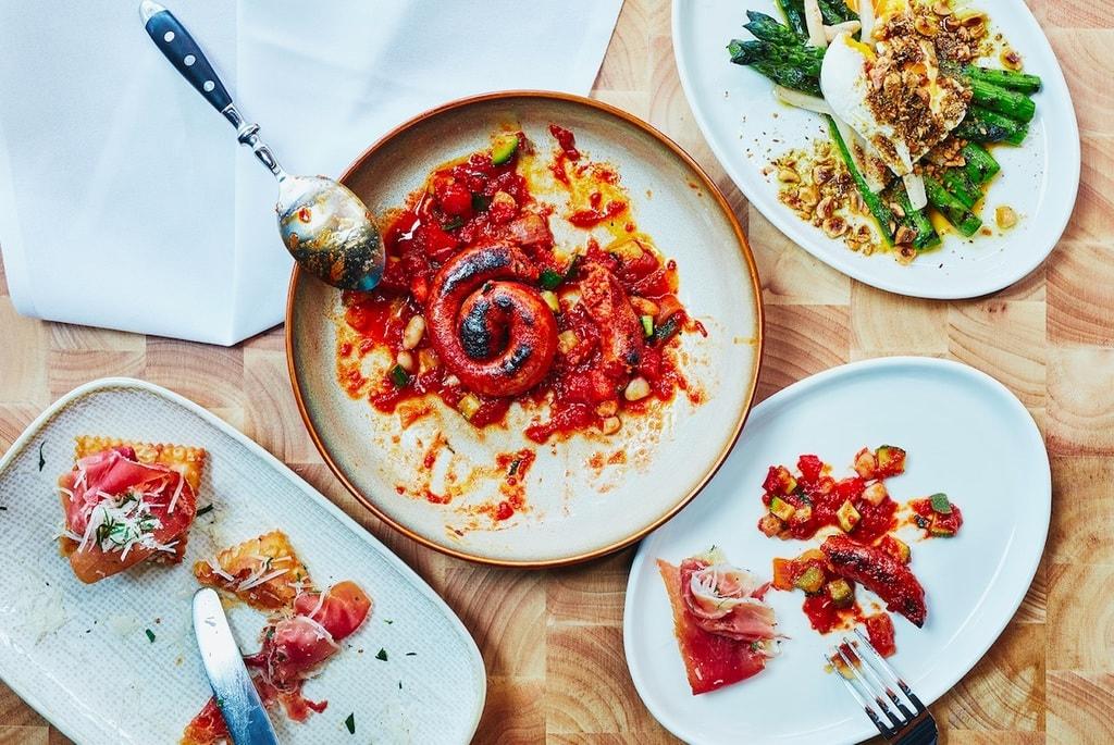 Food at Born by Tapavino | Courtesy of Born by Tapavino
