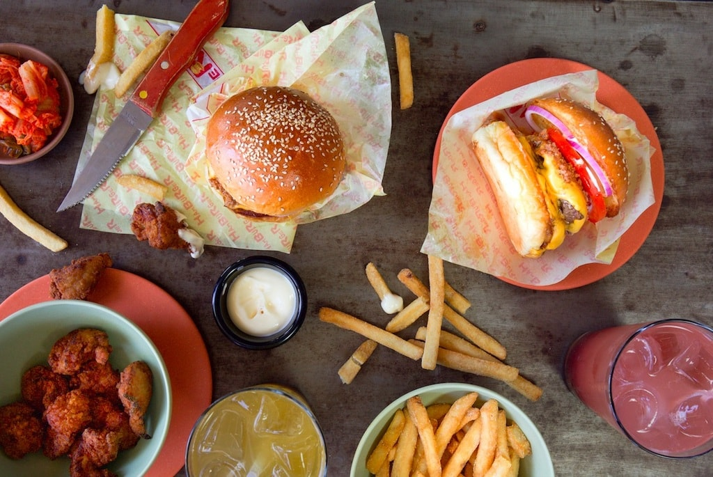 Food at Ume Burger | Courtesy of Ume
