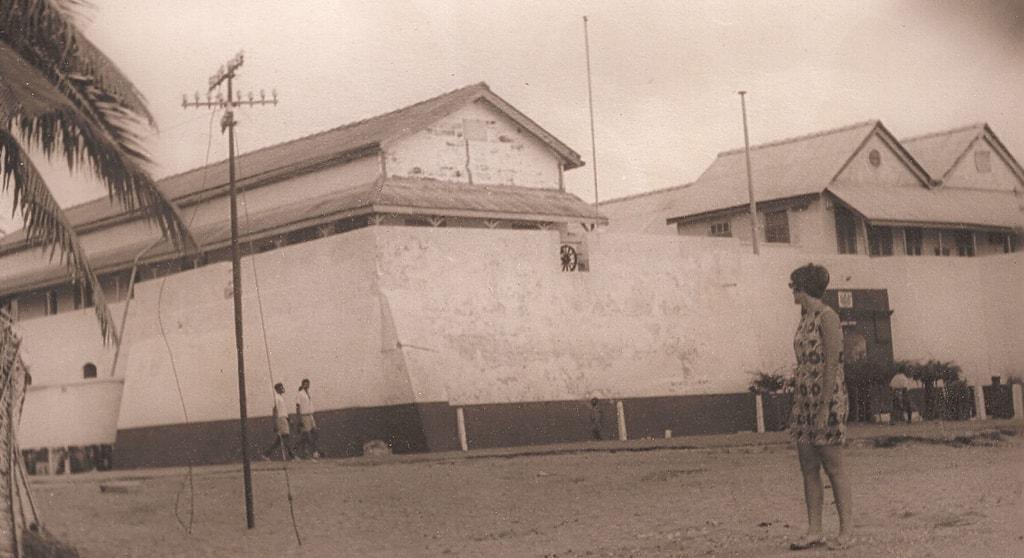 Fort Prinzenstein at Keta in 1970