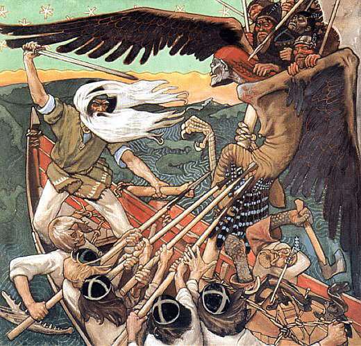 Scene from 'The Kalevala' | © Akseli Gallen-Kallela / WikiCommons