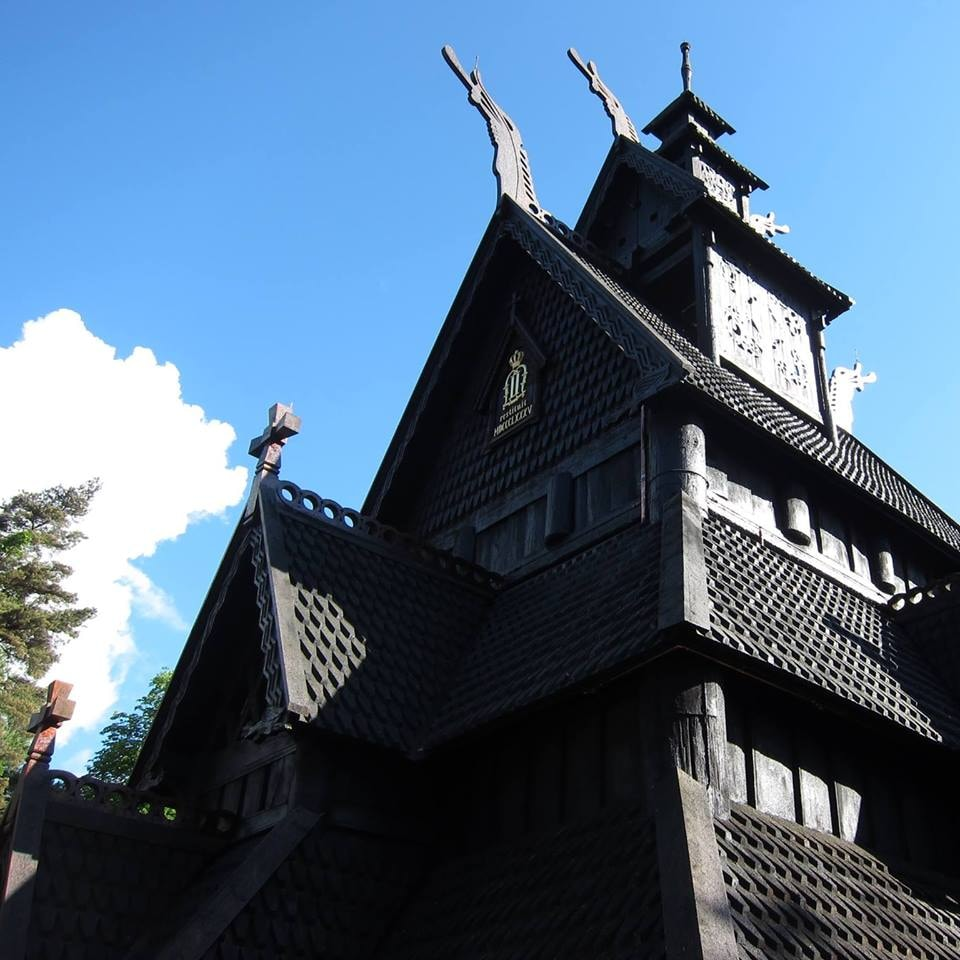 Gol stave church is one of the exhibits of the open air Folk Museum | Courtesy of Norsk Folkemuseum