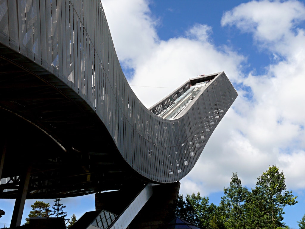 Holmenkollen Jump Tower | © Chris Alban Hansen : Flickr