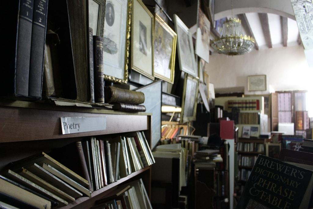 Fine Books interior © Leon Beckenham