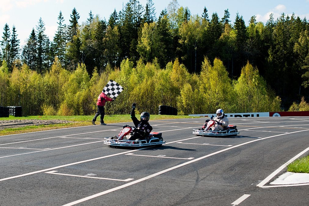 Karting at Rudskogen Motorsenter | Courtesy of Harald Huysman Karting AS