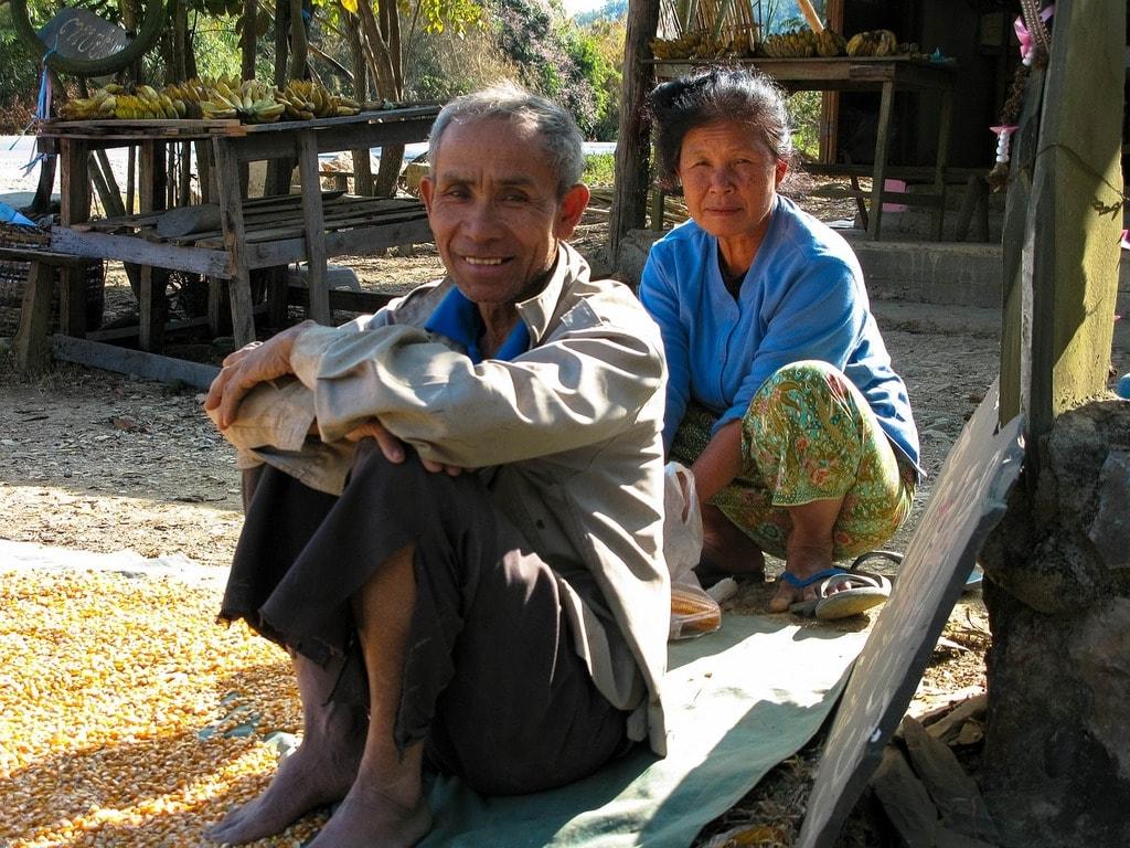 Old Man and Woman, Laos | © Kolibri5/Pixabay