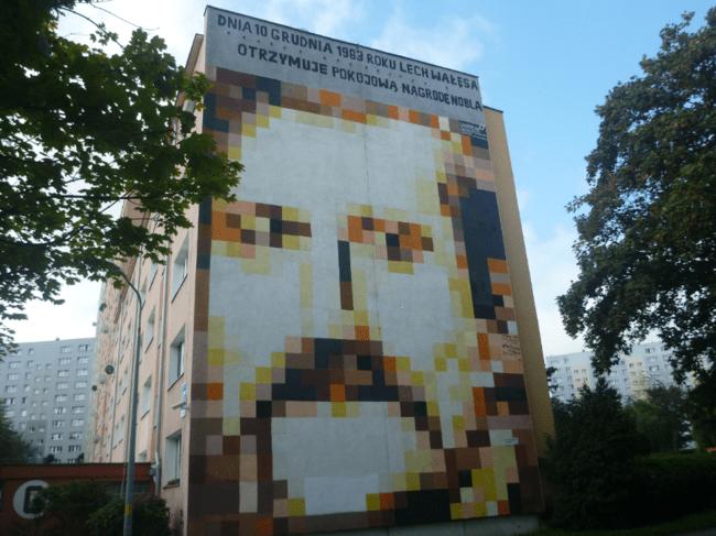 Lech Wales Mural Zaspa