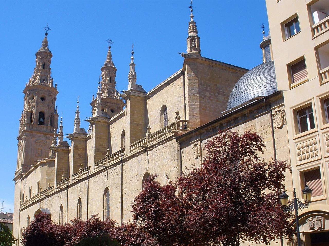 Catedral de Santa María de la Redonda, Logroño, Spain | ©Zarateman / Wikimedia Commons