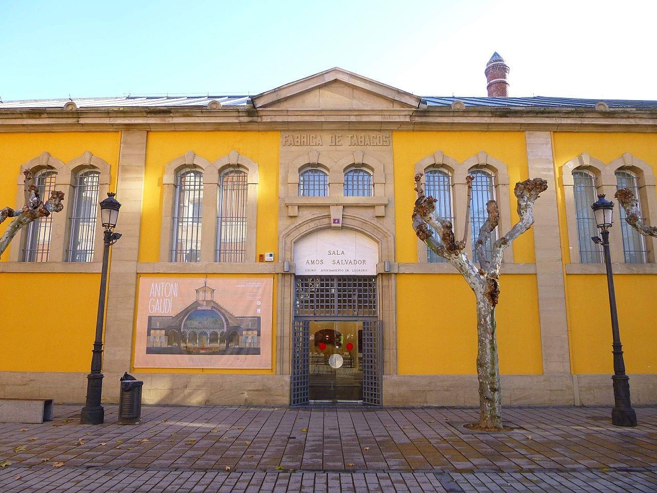 Sala Amós Salvador, Logroño, Spain | ©Zarateman / Wikimedia Commons