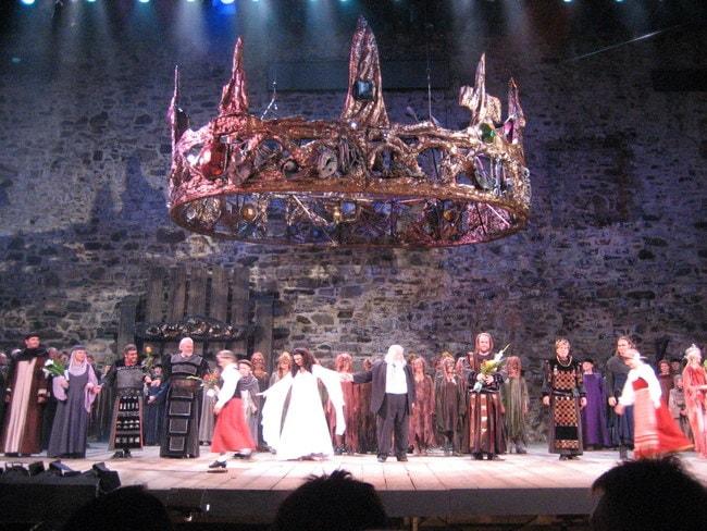 Performance of 'Macbeth' at Savonlinna Opera Festival 2007 | © Jaako H / WikiCommons