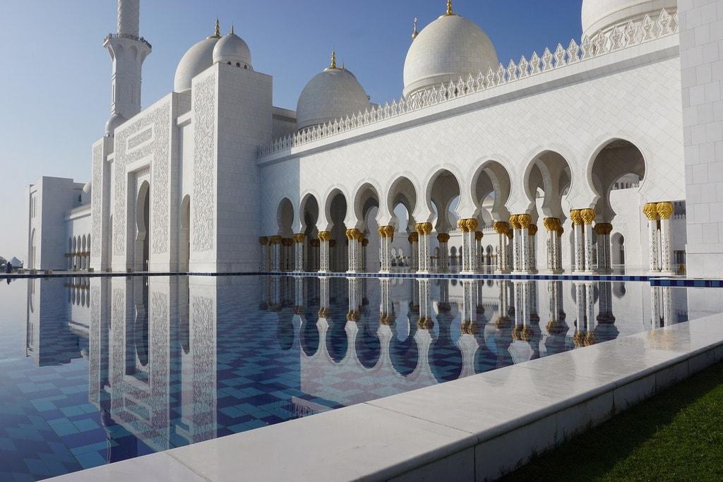 Sheikh Zayed Grand Mosque | © maxos_dim/Pixabay