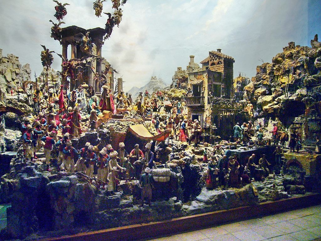 The Presepe Cuciniello | © By Lalupa/WikiCommons