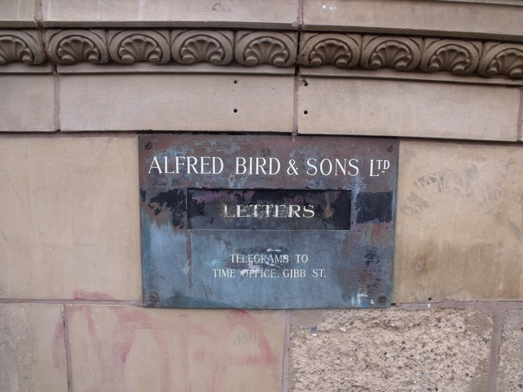 Original Bird's letterbox, Digbeth