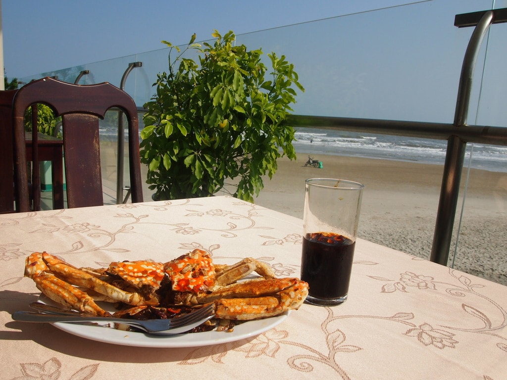 Vietnam has some great crab | © Matthew Pike
